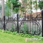 Забор в ландшафтном дизайне