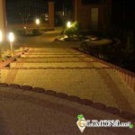 Ландшафтное освещение участка