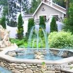 Ландшафтный дизайн: фонтаны и водоемы