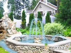 Ландшафтный дизайн фонтаны и водоемы