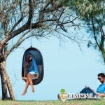 Плетёные качели из ротанга: создаём летний экстерьер