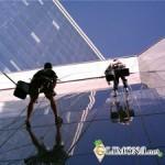 Прайс на высотные работы - производство крышных установок, монтаж баннера на люверсах