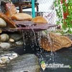 Как обустроить фонтан на даче?