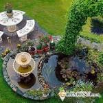 Как соорудить на даче фонтан?