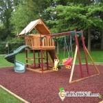 Обустройство детской площадки на участке