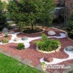 Декоративный камень украсит ваш сад