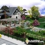 Ландшафтный дизайн для дачного участка