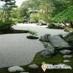Японский сад из камней