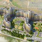 Жилые комплексы мегаполиса