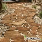 Ландшафтный дизайн: деревянная дорожка