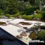 Японский сад дома