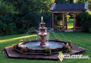 Создание фонтана для дачи