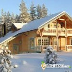 Строительство деревянных домиков в Финляндии