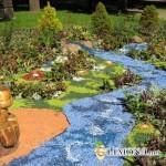 Мраморная крошка украсит ваш ландшафтный дизайн