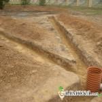 Способ осушения земельного участка
