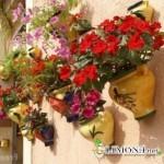 Цветы как украшение стен