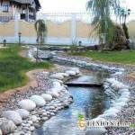 Ландшафтный дизайн. Использование натурального камня