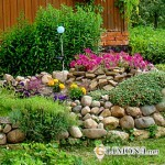 Ландшафтный дизайн и натуральные камни