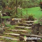 Садовая лестница – функциональность и декор
