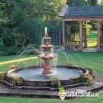 Строительство фонтана на дачном участке