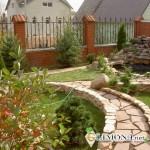 Садовые дорожки – главное украшение приусадебного участка