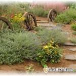 Как украсить сад