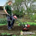 Использование мотоблоков  и культиваторов на садовом участке