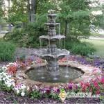 Выбор фонтана для дачи