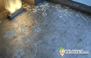 дизайн бетонных полов