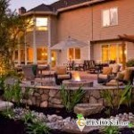 Как украсить ландшафт около дома