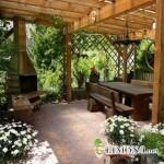 Как совместить зону отдыха с садово-парковым искусством