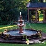 Создание фонтана на даче
