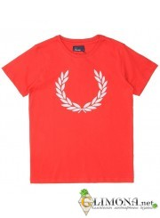 красная футболка fred perry