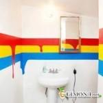 Правильная покраска стен ванной комнаты