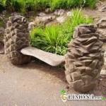 Скамейка как элемент ландшафтного дизайна