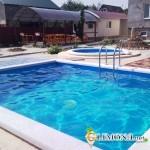 Каркасный бассейн оптимальный вариант для загородного участка