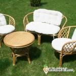 История плетеной садовой мебели