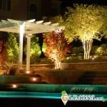 Технологии освещения лужаек и участков возле дома