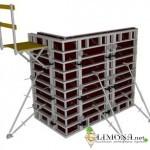 Стальная и алюминиевая опалубки – залог качественного строительства.