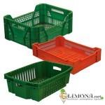 Пластиковые ящики для овощей и фруктов - правильный способ хранения