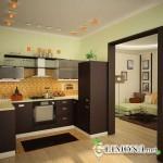 Современные материалы для кухонных стен