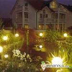 Светильники при ночном освещении