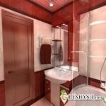 Отделка ванной комнаты при ремонте квартиры