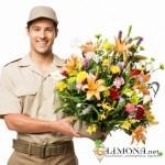 Отправьте роскошный букет с помощью службы доставки цветов