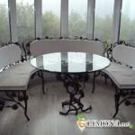 Кованая мебель – изящество и красота