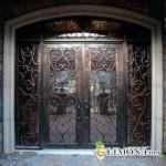 Кованые двери. Преимущества