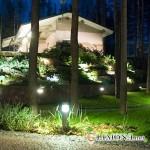 Освещение частного загородного дома