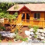 Садовый домик – полезное украшение вашего участка
