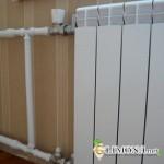 Трубы системы отопления частного дома