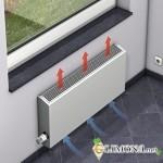 Компактный, экономный и безопасный обогреватель – это… водяной настенный конвектор